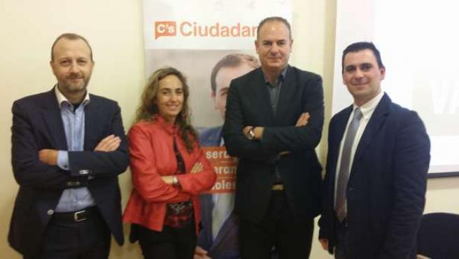 Representantes de Ciudadanos en la Comunitat
