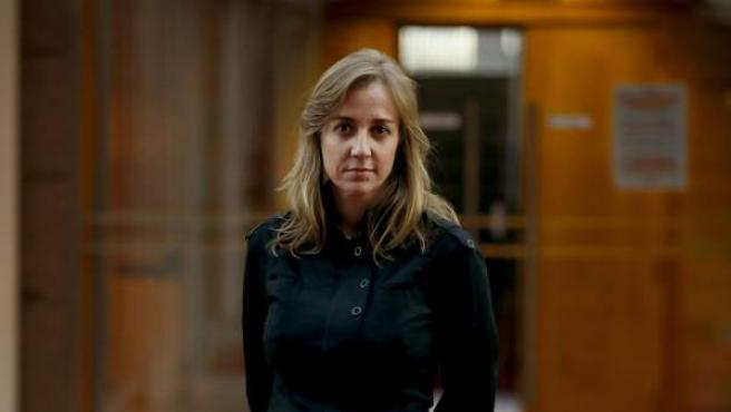 Tania Sánchez, en una imagen en la Asamblea de Madrid.