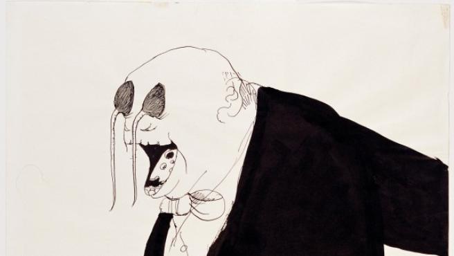 Ilustración de Tomi Ungerer para el libro 'La fiesta' (1961)