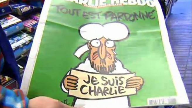 La demanda del semanario francés ha sido muy superior a otras semanas. Sólo han llegado 190 ejemplares a la ciudad condal. Se han reservado 500 números para la semana que viene.