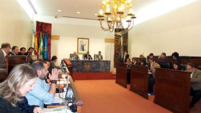 Pleno de la Diputación de Huelva del mes de enero.