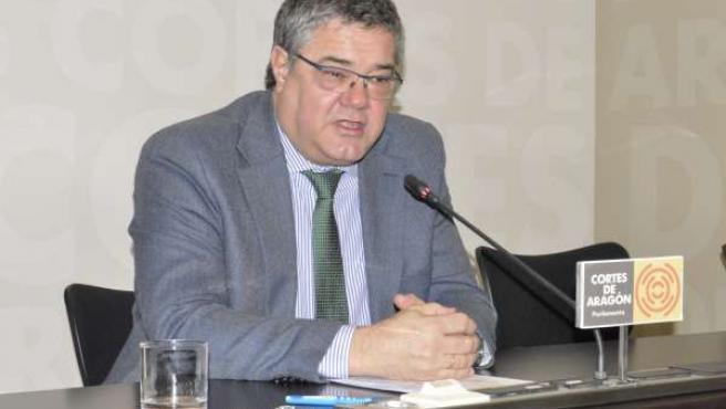 El portavoz del PP en las Cortes de Aragón, Antonio Torres