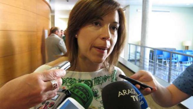 La alcaldesa de Huesca, Ana Alós