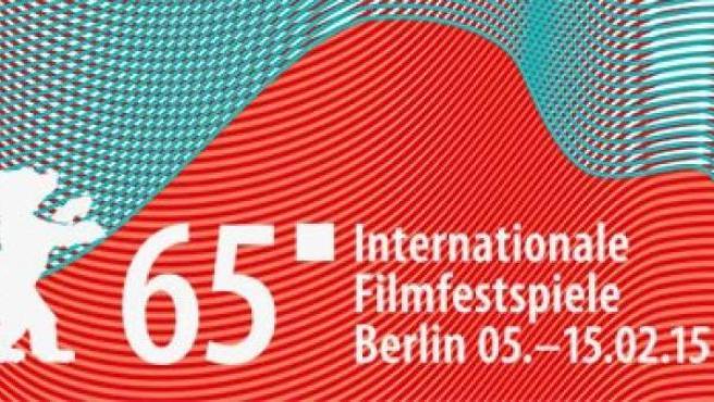 Cartel de la 65ª edición del festival de cine de Berlín.