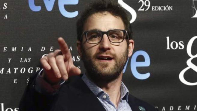 Dani Rovira, en la fiesta de los nominados a los Premios Goya.