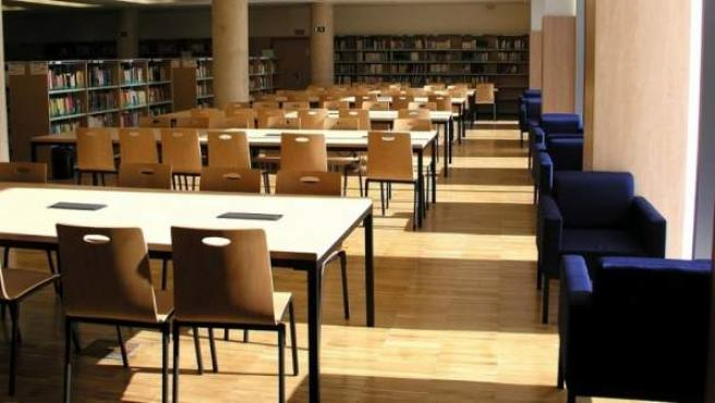 Biblioteca María Zambrano de la Universidad Complutense de Madrid.
