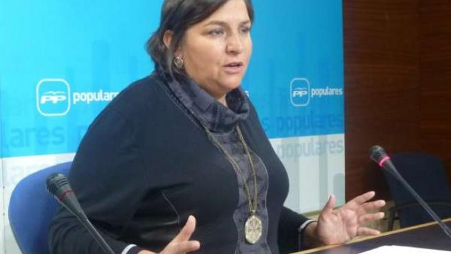 Cesárea Arnedo, diputada del PP en las Cortes