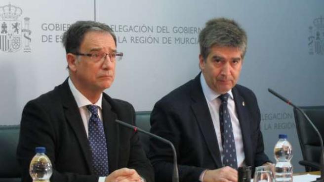Bascuñana y Cosidó en la rueda de prensa