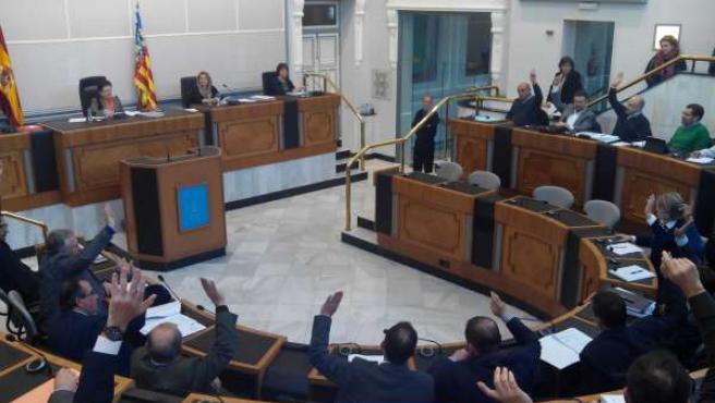 La Junta de Gobierno vota a favor de la rescisión del contrato con Cespa-Ortiz