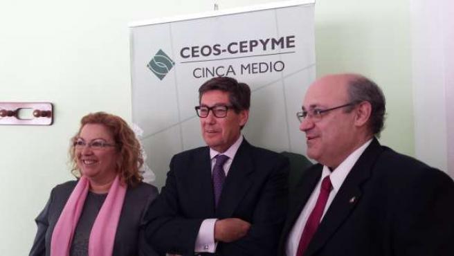 Aliaga ha participado en el XXV aniversario de CEOS CEPYME Cinca Medio