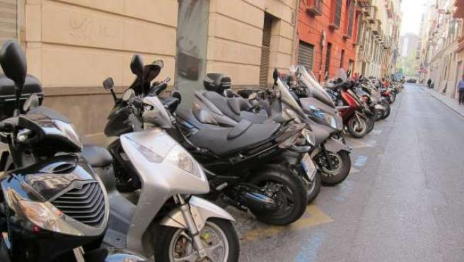 Motos, Motocicletas, aparcamiento