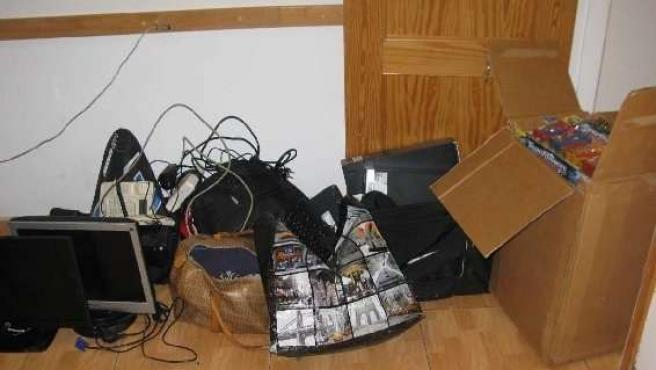 Objetos robados
