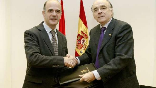 Alberto Catalán y Andrés Urrutia.