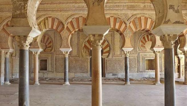 Salón de Abderramán III en Madinat al-Zahra