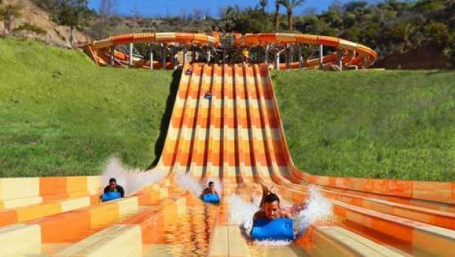 Atracción de Aqualand 'El laberinto del agua'