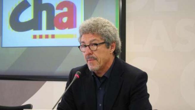 El diputado de CHA, Gregorio Briz.