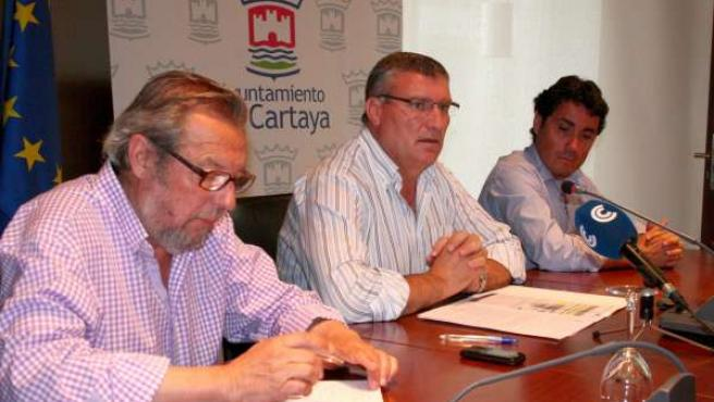 Juan Polo, En Rueda De Prensa.