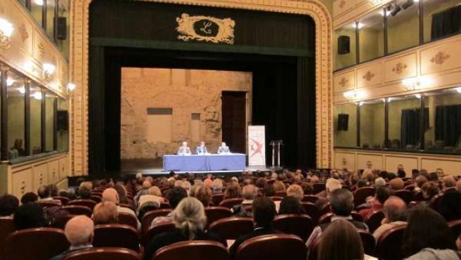 Patio de butacas del Teatro Liceo de Salamanca