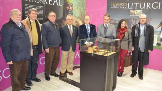 Inauguración de la exposición en el Ateneo