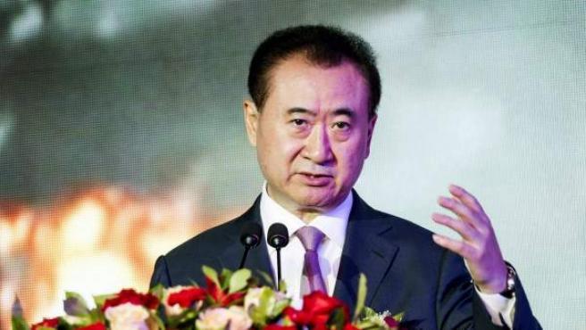 Fotografía de archivo, tomada el 29 de agosto de 2014, del multimillonario Wang Jianlin, dueño del gigantesco conglomerado empresarial chino Wanda.