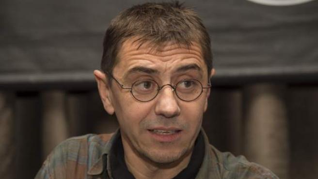 Juan Carlos Monedero, profesor de la UCM y cofundador de Podemos.