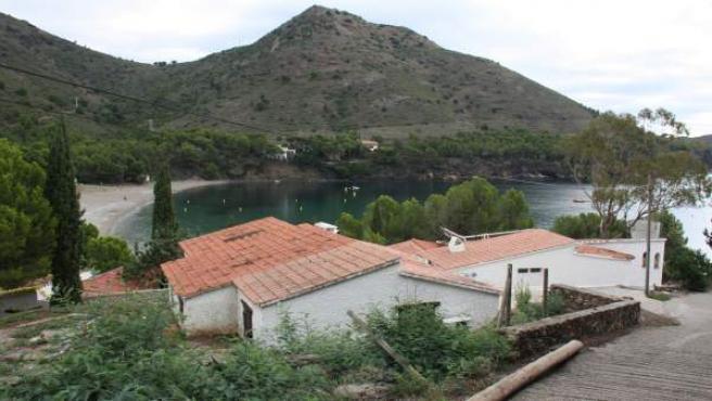 El edificio que aocgió el desaparecido restaurante El Bulli, en Cala Montjoi, en el parque natural del Cap de Creus (Girona).