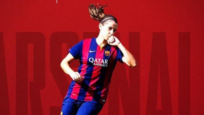 La futbolista Vicky Losada