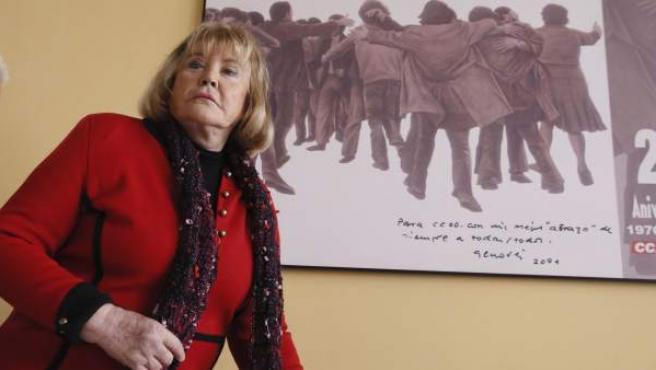 La jueza argentina María Servini, que investiga la llamada querella argentina contra los crímenes del franquismo.