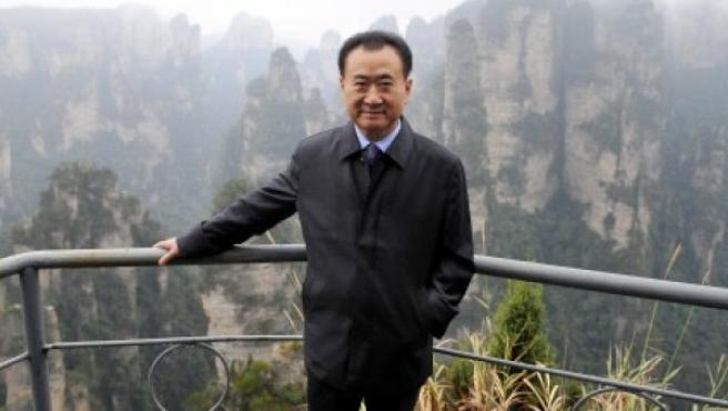 El magnate chino durante una visita al Zhangjiajie National Forest Park en 2013.