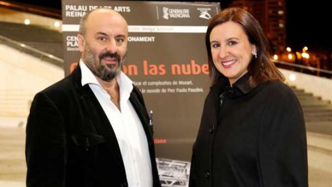 Davide Livermore y María José Català