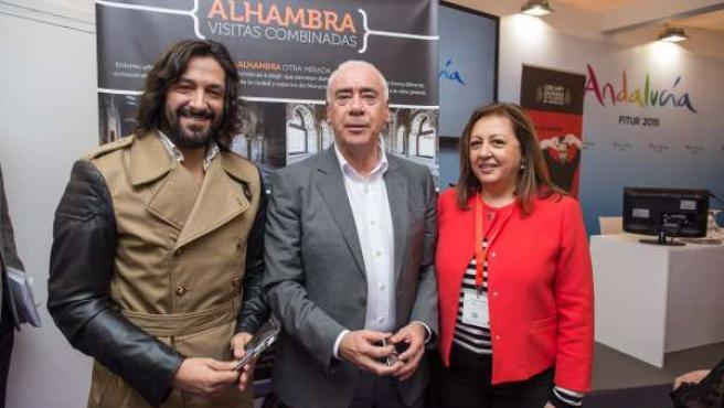 María del Mar Villafranca, Luciano Alonso y Rafael Amargo
