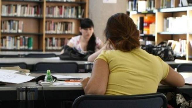Una de las bibliotecas de la Universidad Autónoma de Madrid.