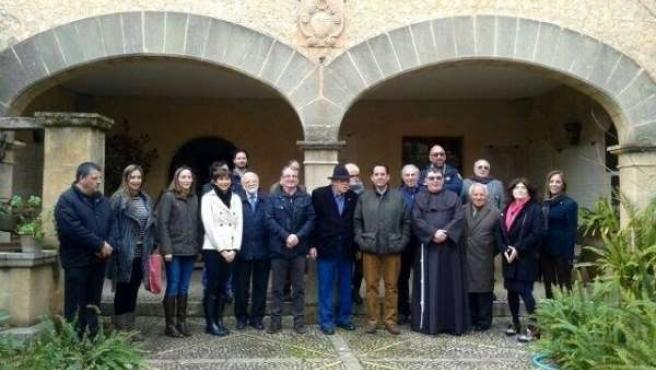 Inauguración de la exposición 'Las misiones franciscanas de Querétaro'