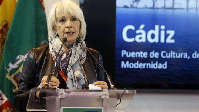 Martínez durante su intervención