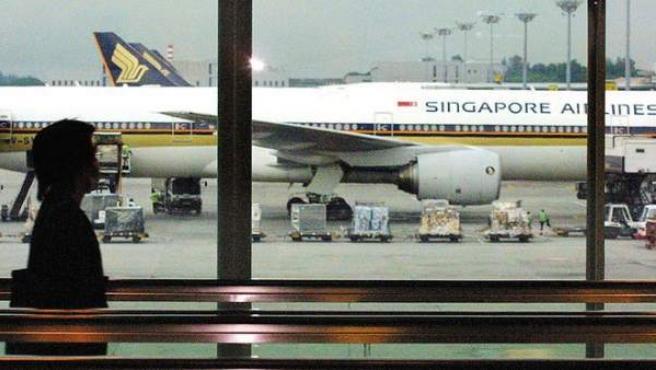 Imagen del aeropuerto de Changi, en Singapur.