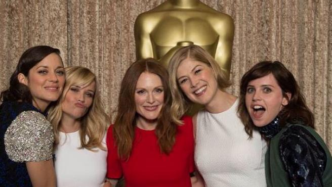 Almuerzo de los nominados a los Oscar 2015