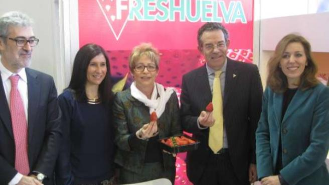 Elena Víboras, en Fruit Logística.