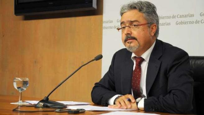 Portavoz Del Gobierno De Canarias, Martín Marrero