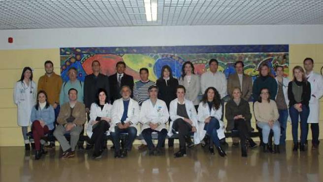 Reumatólogos cordobeses y latinoamericanos reunidos en el Hospital Reina Sofía