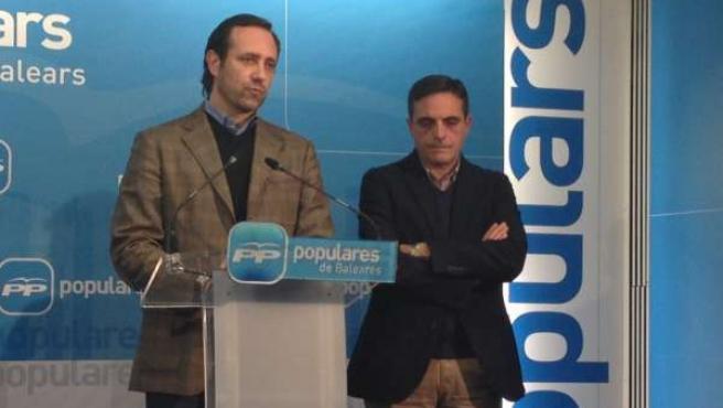 José Ramón Bauzá y José Vicente Marí