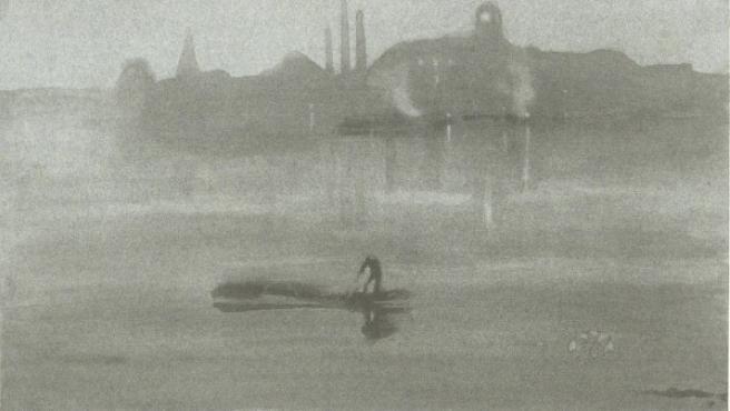 Grabado del Támesis de James Abbott McNeill Whistler
