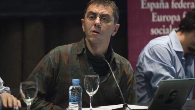 Juan Carlos Monedero, dirigente de Podemos.