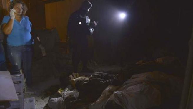 Crematorio abandonado en Acapulco, estado de Guerrero, México, donde se han encontrado los 61 cadaveres