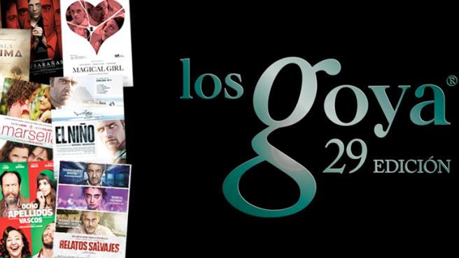 Palmarés de los Premios Goya 2015