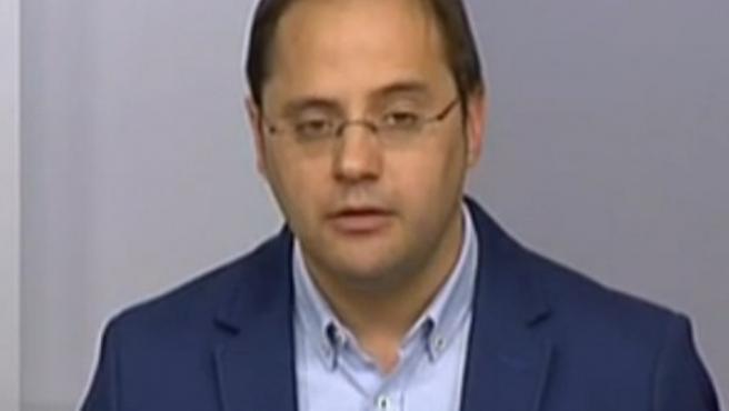 César Lucena, en rueda de prensa.