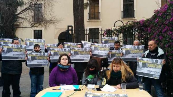 Presentación manifestación contra la 'Ley Mordaza'