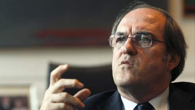 El exministro de Educación, y candidato a la Comunidad de Madrid por el PSOE, Ángel Gabilondo.