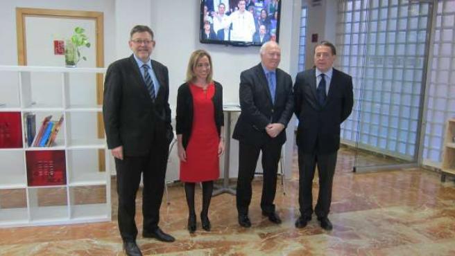 Puig, Chacón, Moratinos y Ayala