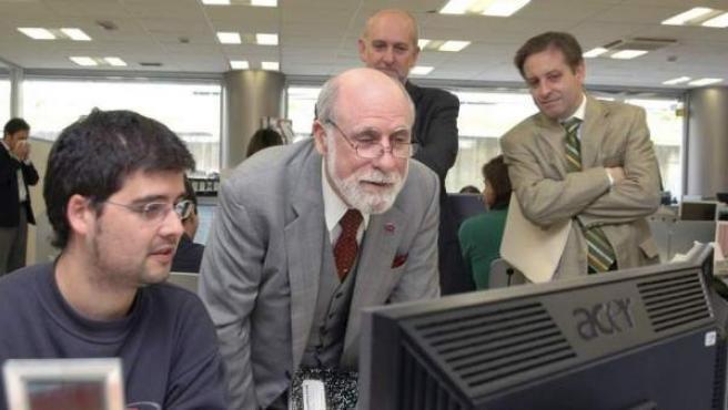 Vinton Cerf es considerado uno de los padres de Internet.