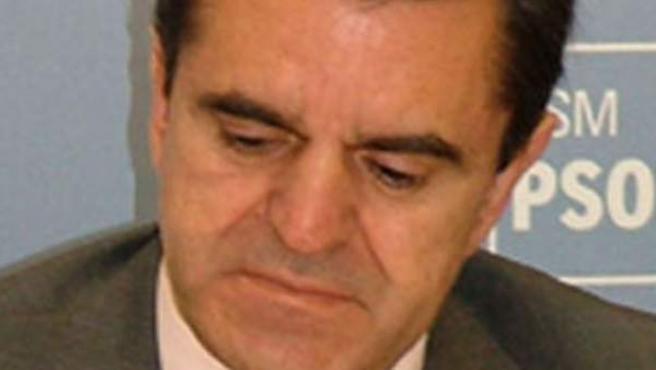 El portavoz socialista en la Asamblea de Madrid, José Manuel Franco